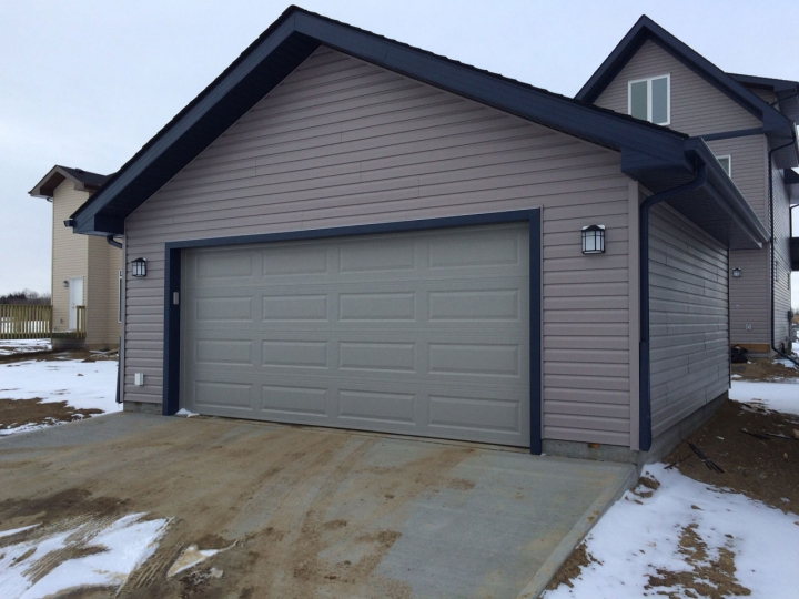 Edmonton standard garage package Garage Packages. House Framing Experts  Edmonton  Smith Built Homes   Smith Built Homes