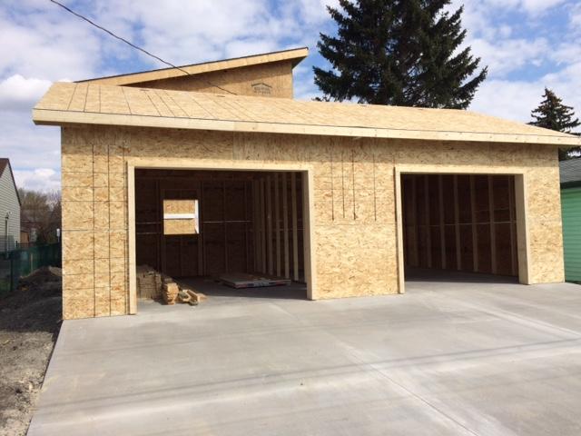 Custom garages smith built homes for Garage packages edmonton